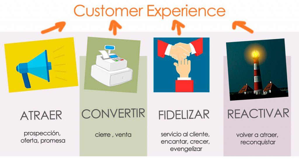 fases ciclo de vida del cliente